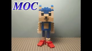 How to Build: Lego Sonic and Tails MOCs