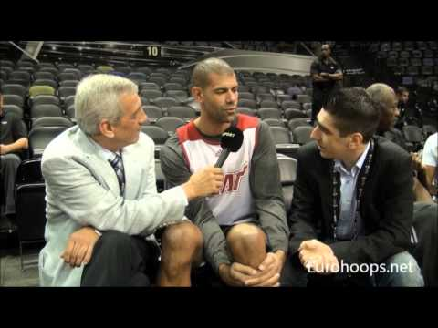 Shane Battier speaking about Spanoulis