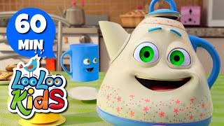 I'm a Little Teapot - THE BEST Songs for Children | LooLoo Kids