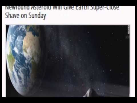 Newfound Asteroid Will Give Earth Super Close on Sunday