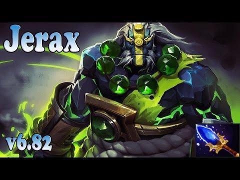 Dota 2 Jerax Earth Spirit   Ranked Gameplay v6.82