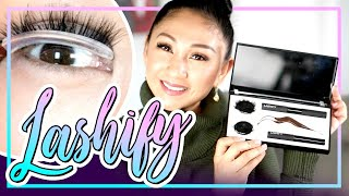 LASHIFY DIY EYELASH EXTENSIONS! Does it work?