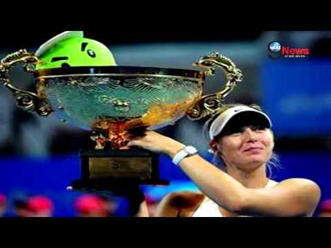 Maria Sharapova Defeated Kvitova in China Open Final