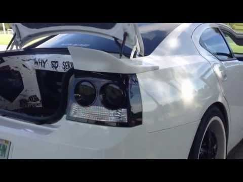 Dodge Charger white Girl Re Audio Sxx Flex video