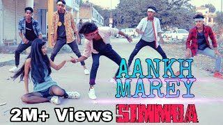Simmba Aankh Marey Neha Kakkar Ranveer Singh Diksha Gaur