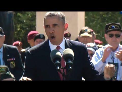 President Obama's D-Day 70th Anniversary Address (June 6, 2014)