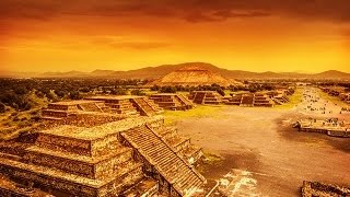 ANCIENT CIVILIZATIONS : Egyptian Pyramids and Aztec Pyramids