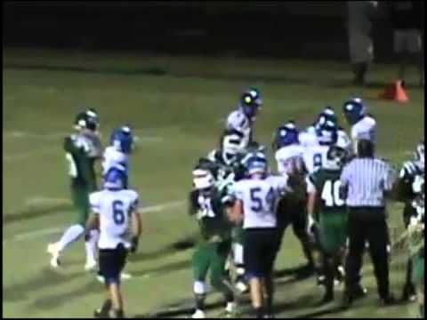 "Malik Barrow #54 Tampa Catholic High School Class of 2016 6'3"" 240 lbs Sophomore Season"