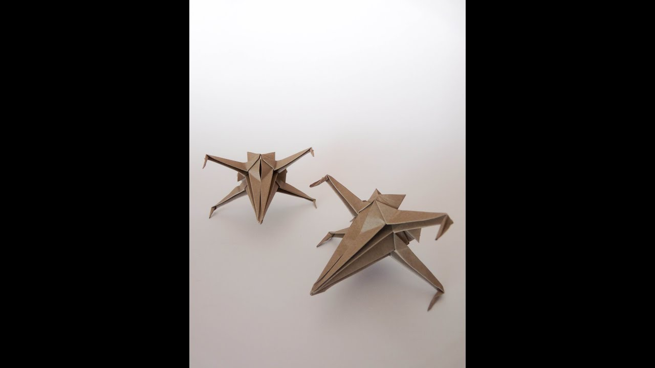 Origami Xwing 5 Steps  Instructablescom