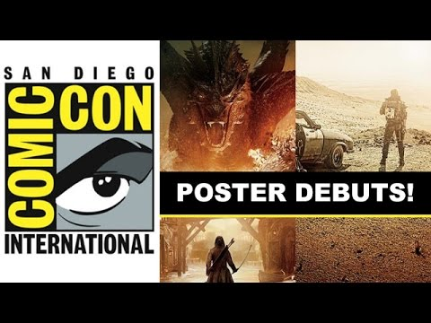Comic Con 2014 - The Hobbit The Battle of the Five Armies & Mad Max Fury Road : Beyond The Trailer