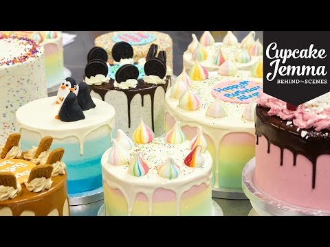 #madeforyou Behind the Scenes Tour of Crumbs & Doilies Bakery | Cupcake Jemma thumbnail
