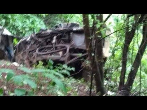 #Maharashtra : 500 फीट गहरी खाई में गिरी बस| Maharashtra Bus Accident | Bus Accident Today Morning