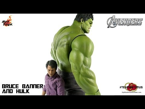 Video Review of the Hot Toys: Bruce Banner and Hulk
