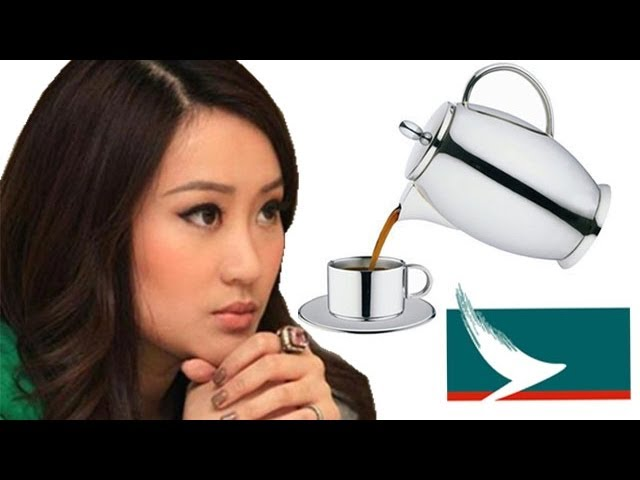 Thai Cathay Pacific flight attendant quits after coffee throwing rant