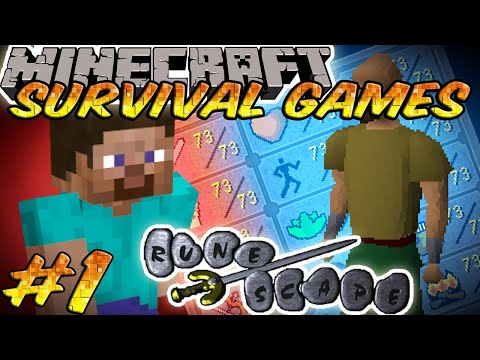 Minecraft: The Survival Games - Taverley Map - Setosorcerer POV