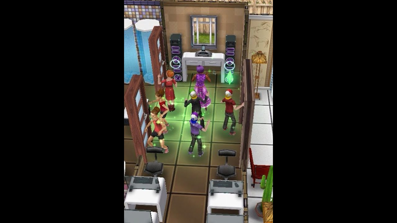 The sims freeplay design build 2nd floor preteen academy for How to make a second floor on sims freeplay