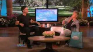 Ellen Tries To Get Rob Lowe To Laugh