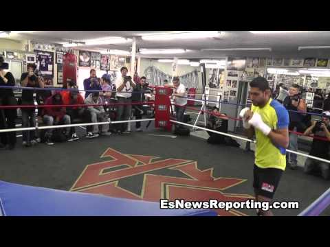 Amir Khan: Shadow Boxing Image 1