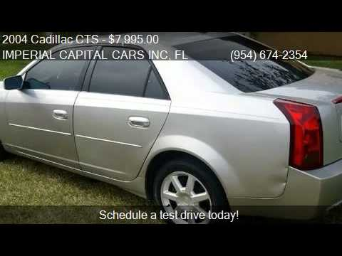 2004 Cadillac CTS Base 4dr Sedan for sale in Hollywood, FL 3