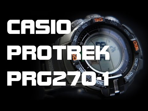 Casio Protrek PRG270-1 - Review and Measurements