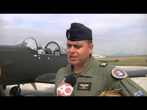Informativo 40 Noche, Practica Airshow Fuerza Aérea Mexicana, 20 de agosto 2013
