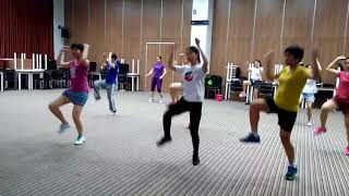 ZUMBA DANcer : waka waka