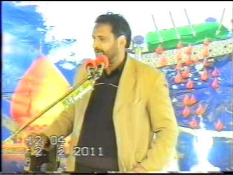 Zakir Manzoor Shah Sohdra (shia Zakir)part 1.mpg video