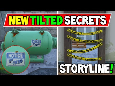New Hidden Secrets found in TILTED TOWERS...