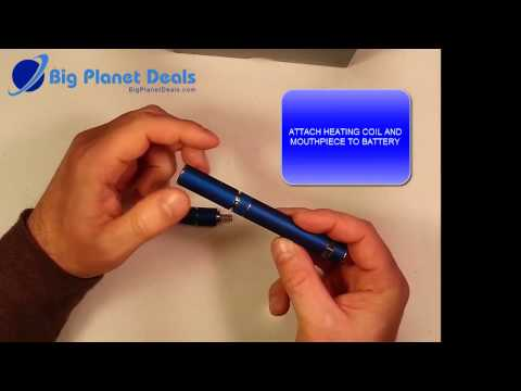 How to use the AGO G5 Vaporizer Pen