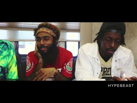 Hypebeast TV & HYPETRAK TV - Paying Dues with Flatbush Zombies