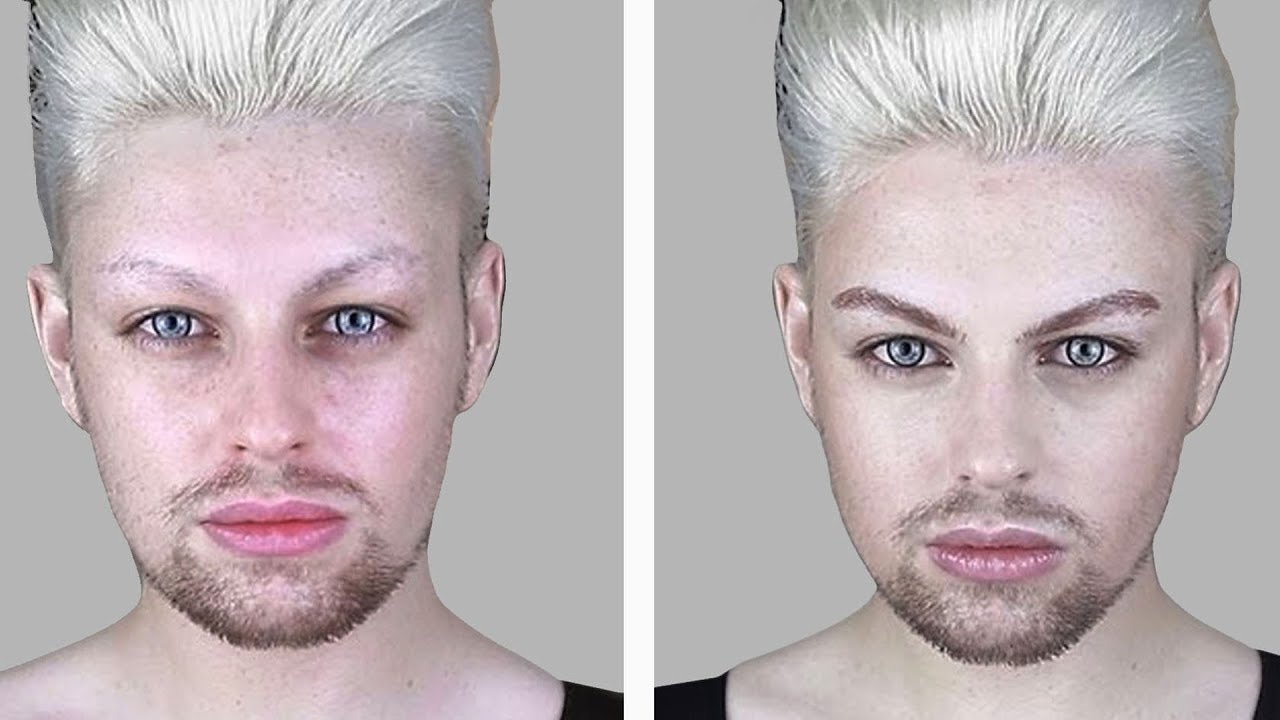 Male Makeup Natural And Easy