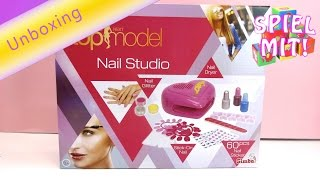 Germanys next topmodel 2015 Nagelstudio Nail Studio Unboxing