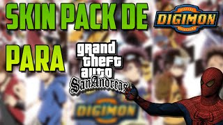 Loquendo-Pack de skins de Digimon para GTA San Andreas.Por JoteAmazing2000
