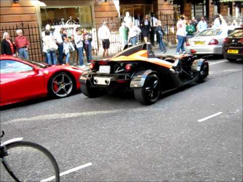 KTM X-Bow parking in London
