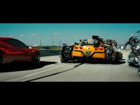Transformers 3 Highway scene in Hindi Full HD