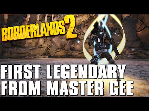 Borderlands 2 My First Legendary from Master Gee (Full Boss Fight)