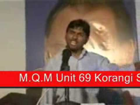 Great Speech By Mqm Worker video