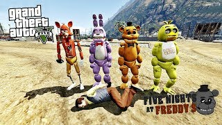 GTA 5 FİVE NİGHT FREDDY