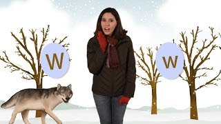 ABC phonics: The Letter W for Kids