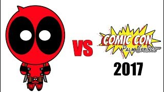 Deadpool vs Comic Con Palm Springs 2017