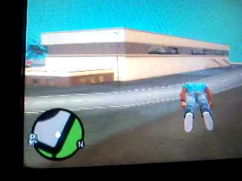 como volar en  gta vice city stories (gta vcs) modo superman en version española  psp