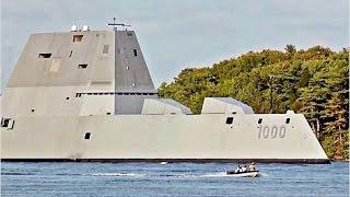 WORLDS MOST ADVANCED Naval Ship the US Navy Zumwalt class
