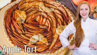 Apple Tart with apple butter