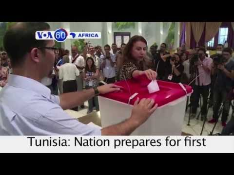 Tunisia Prepares for First Election Since Revolution - VOA60 Africa 10-21-14