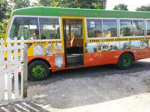 One Love Bus Pub Crawl, Negril Jamaica 2015