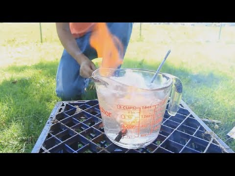 10 Science Experiments Using Water #2