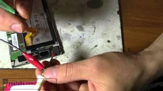 Lenovo K900 не заряжается и разборка корпуса