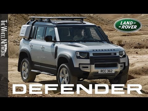 2020 Land Rover Defender Off-Road Driving