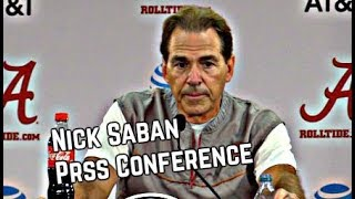 Nick Saban Press Conference from September 13, 2017