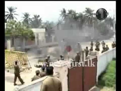 Sri Lankan Islam jihadists has unleashed their racism again by attacking Mannar Court Complex.